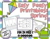 Easy Peasy Math & Literacy Printables: Spring