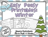 Easy Peasy Math & Literacy Printables: Winter