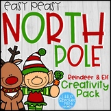 Easy Peasy North Pole Reindeer and Elf Creativity Pack for