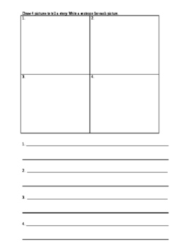 Easy Peasy Open-Ended Sequencing Activity
