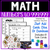 Math Centers for Upper Elementary - numbers to 999,999