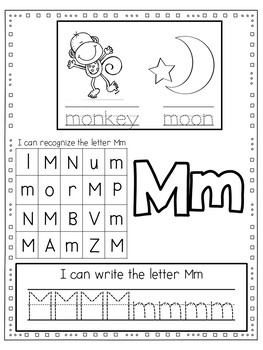 Easy, Peasy Printables: ALphabet Practice Sheets