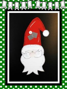 Easy-Peasy Santa Craft