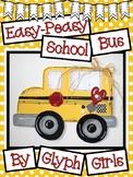 Easy-Peasy School Bus Craft