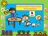 Easy Peasy Science Made Simple-Observing Seeds