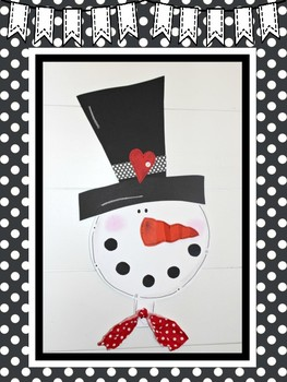Easy-Peasy Snowman Craft