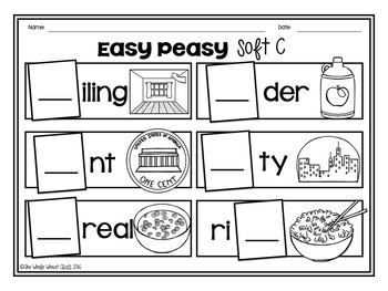 Easy Peasy Soft C and G