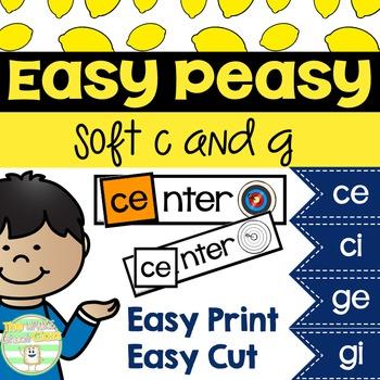 Easy Peasy Soft C and G