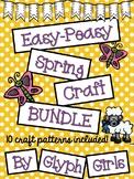 Easy-Peasy Spring Craft BUNDLE