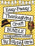 Easy-Peasy Thanksgiving Craft BUNDLE