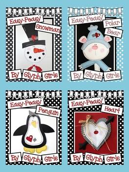 Easy-Peasy Winter Craft BUNDLE