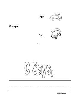 Easy Phonogram Reader : C Says