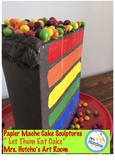Easy Pop Art Cake Sculpture