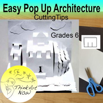 Easy Pop Up Paper Architecture