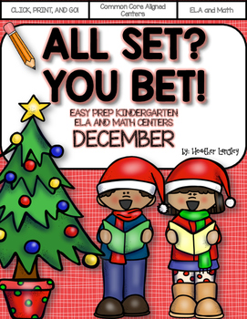 Easy Prep Centers DECEMBER: All Set? You Bet!