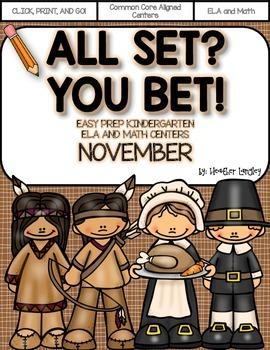 Easy Prep Centers NOVEMBER: All Set? You Bet!