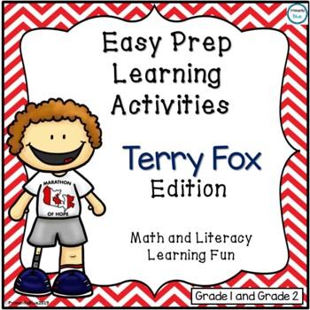 Easy Prep Fun- Terry Fox Edition