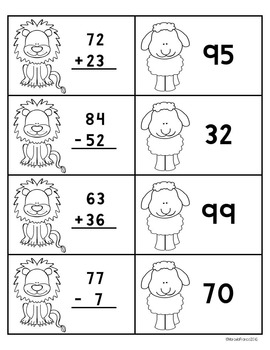 Easy Prep March Math Centers