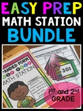 Math Centers 2nd Grade | Bundle | Games and Activities