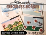 Easy Prep - Seasonal Errorless Learning Boards