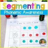 Segmenting Sounds Worksheets No Prep Phonemic Awareness Ba
