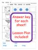Easy Prep Segmenting Worksheets
