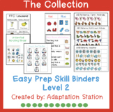 Easy Prep Skill Binders Level 2 Growing Collection