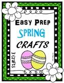 Easy Prep Spring Crafts