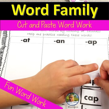 Word Work with Vowel Word Families