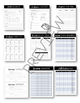 Easy Print Black & White Special Education Resources