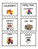 Easy Print Classroom Organization Labels (full set)