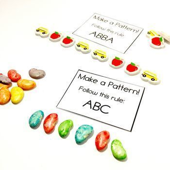 Easy Print and Prep Kindergarten Math Centers: Patterning! Endlessly Growing