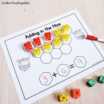 Easy Print and Prep Kindergarten Math Centers: THE BUNDLE!