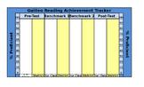Easy Reading Classroom Assessment Tracker - Excel Bar Graph Formulas Pre-Loaded!