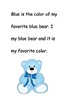 Easy Reader: Color Words - Blue