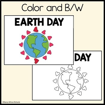 LEVELED Reader: EARTH DAY (3 Differentiated Reading Levels for K-2)