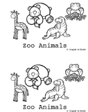 Easy Reader (I, see, a, popcorn words) Zoo Animals