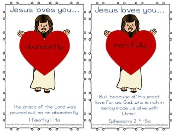 "Easy Reader: ""Jesus Loves You!"""