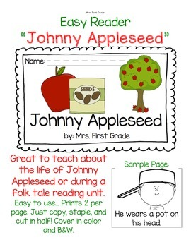 "Easy Reader ""Johnny Appleseed"""