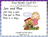 Easy Reader K/1 ~ Jen and Max