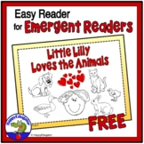 FREE RESOURCE Easy Reader for Emergent Readers