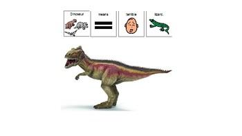 Easy Reader Nonfiction- Dinosaurs