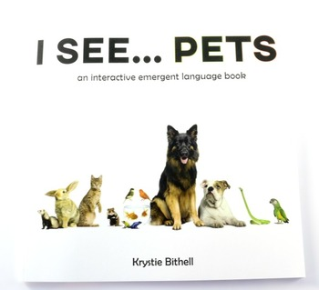 Easy Reader Pets Interactive Emergent Language Book