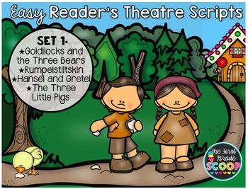 Easy Reader Reader's Theatre Fairy Tale Scripts for Primary Grades