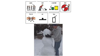 Easy Reader-Snowman