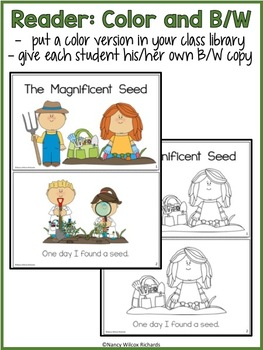 Leveled Reader: Planting in Spring (3 Different Levels, K-2)