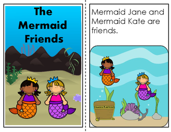Easy Reader:  The Mermaid Friends