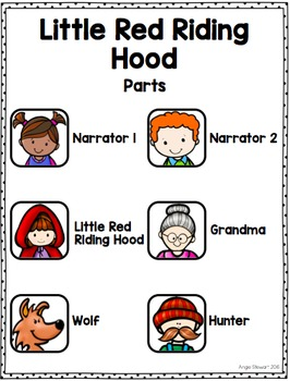 Easy Reader's Theatre Fairy Tale Scripts FREEBIE