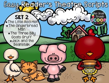 Easy Reader's Theatre Fairy Tale Scripts Set 2
