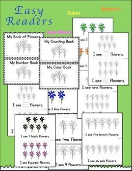 Easy Readers - Flowers